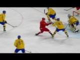 Россия сыграет с Канадой в 1/4 финала чемпионата мира после проигрыша Швеции