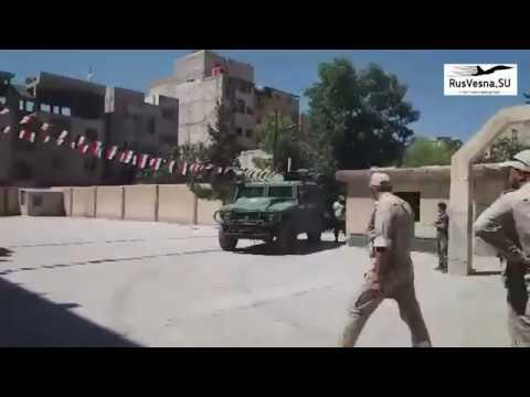 Трогательные кадры: как дети бывших боевиков встретили российских военных