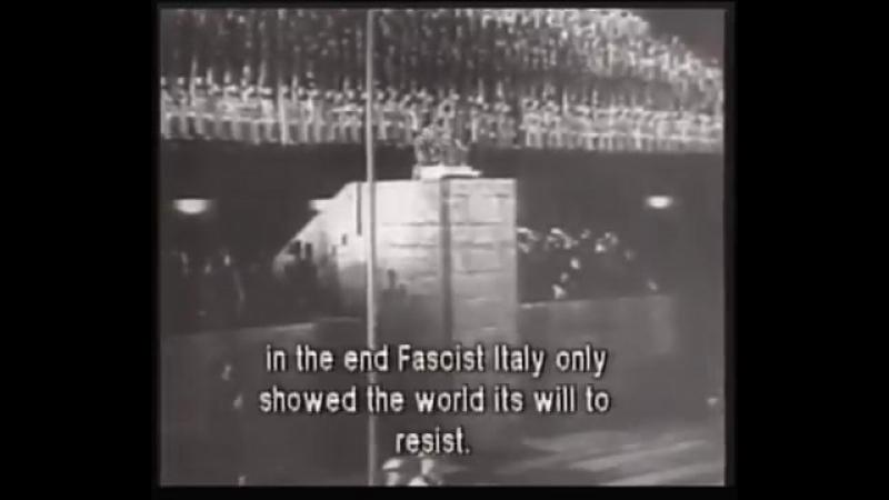 Mussolini Speech in Berlin in German 1937