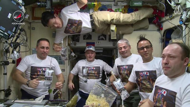Космический Смак готовим Оливье на МКС