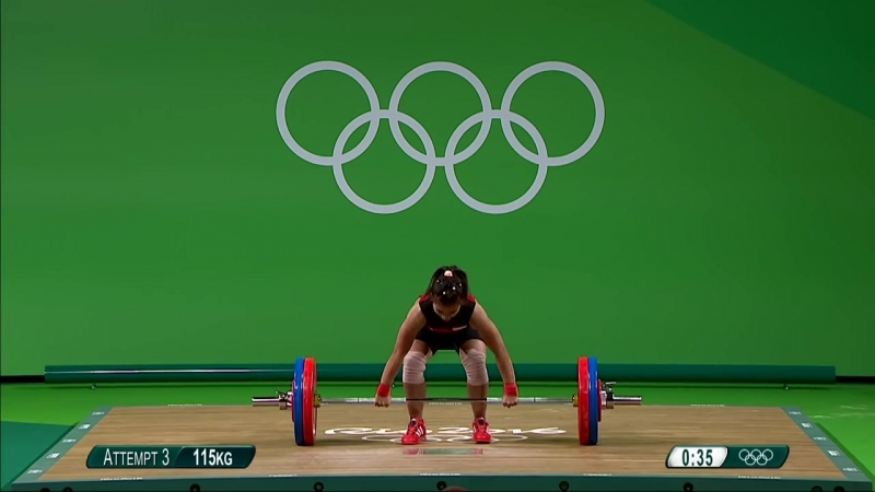 Thailands Tanasan takes gold in Womens Weightlifting 48kg