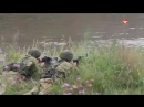 Мотострелки и танкисты ЦВО тренеруются преодолевать водные преграды