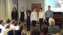 Школа Апогей Концерт посвящённый Дню учителя 5 10 2818