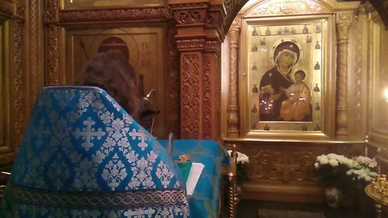 Молитва из Молебна в Часовне Иверской Иконы Божией Матери на красной площади, Кремля.