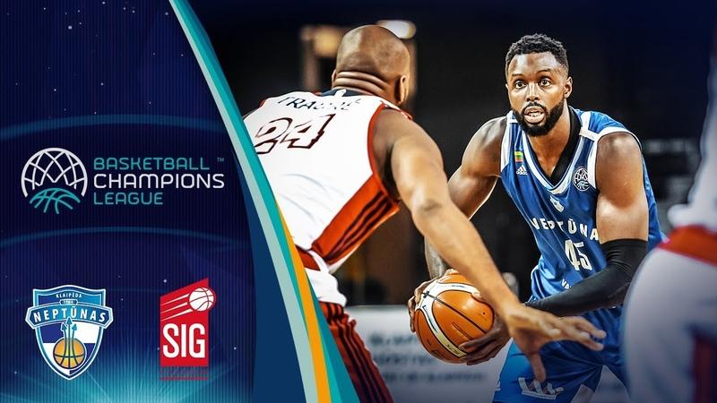 Neptunas Klaipeda v SIG Strasbourg - Full Game - Basketball Champions League 2018-19
