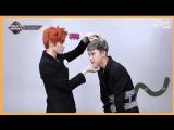 180301 NCT U TxT Baby Dont Stop comeback on Mcountdown - Taeyong & Ten