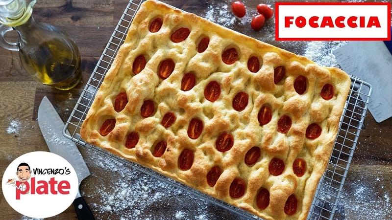 HOW TO MAKE FOCACCIA Focaccia Bread Recipe from Genoa