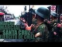 Ejército de Chile Marcha Marcial en Santa Cruz Créditos Muni St Cruz