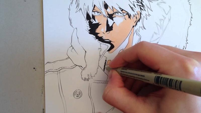BLEACH - Copic Speed Drawing Ichigo Kurosaki