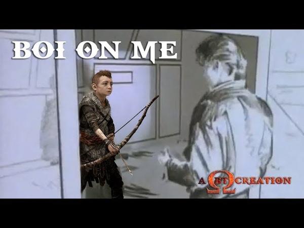 God of War - Boi On Me - Meme