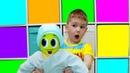 Рома как мама Хелпик стал говорящим пупсиком Видео для детей