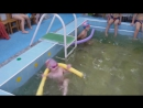 Первое соревнование по плаванию!