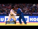 Финал Чемпионата мира по дзюдо 2018 в категории до 63 кг Кларисс Агбеньну Франция Мику Таширо Япония