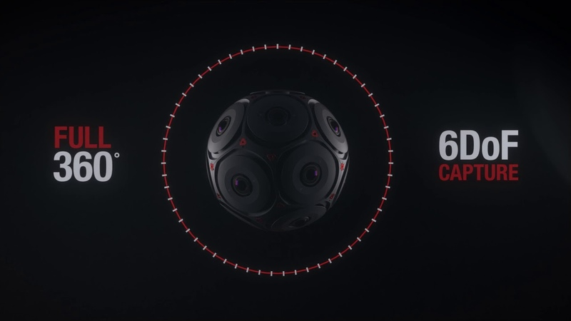Manifold — камера формата 3D360 от Facebook и RED