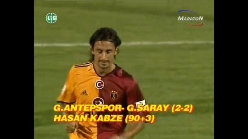 2005-2006 Sezonu Galatasaray'ın Son Dakika Golleri