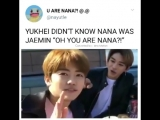 OH YOU ARE NANA