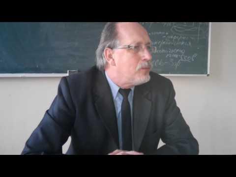 Искаженная христология Свидетелей Иеговы - лекция професcора Виктора Чернышева в ГДУ