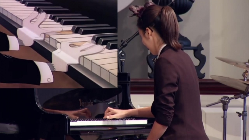 Yannie Tan plays the Cat Concerto - Tom and Jerry - Hungarian Rhapsody No2