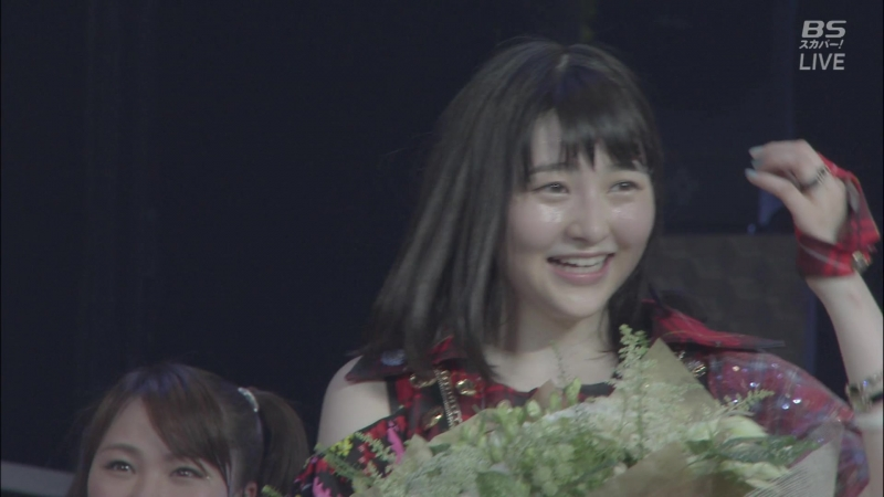 MC Wada Ayaka came to congratulate Ogata Haruna with graduation ~We are Morning Musume~