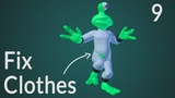 CGC Classic: Modifier Masking (Blender 2.6) - Modeling and Animating an Alien Character Pt. 9
