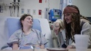 "Johnny Depp as ""Captain Jack Sparrow"" sails into Vancouver to visit patients at BCCH [FULL VIDEO"