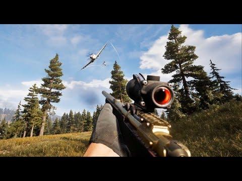 Far Cry 5 Creative Stealth Kills (Outpost Liberation)