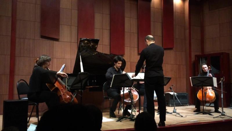 Олег Пайбердин In concord / «В ладу» для четырёх виолончелей и фортепиано