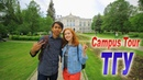 Campus Tour - Tomsk State University, Russia