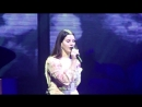 Lana Del Rey – God Bless America - And All The Beautiful Women In It (Live @ «LA To The Moon Tour»: «Philips Arena»)