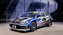 Картинка машина.R Supercar, Volkswagen, FIA World Rallycross. Фольксваген, гоночный.