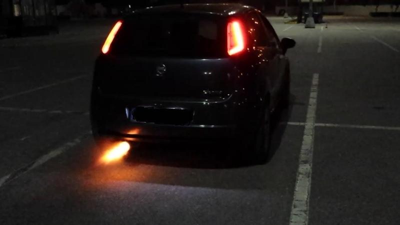 Fiat Grande Punto T-Jet TD04 by Revlimit flames