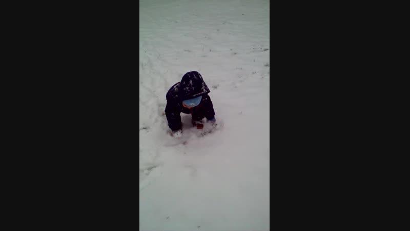 выпал первый снег и в Черкесске.
