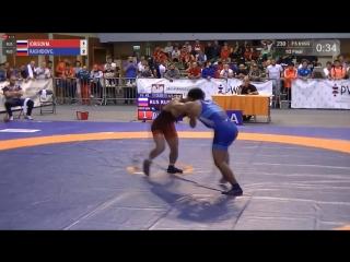 Циолковский-2018 - 61кг: Идрисов Магомедрасул (RUS) vs Рашидов Гаджимурад (RUS) | RIWUS