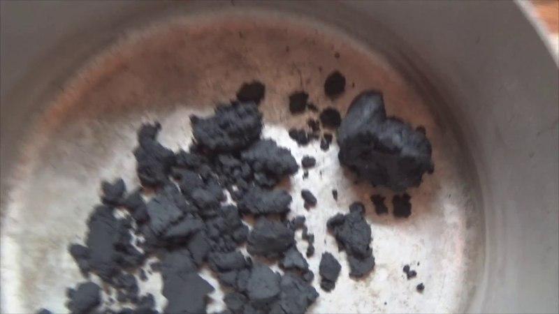 Как сделать пороховую мякоть. Черный порох.