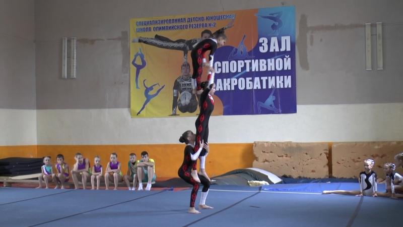 Акробатика Мозырь соревнования
