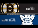 Condensed Games: BOS@TOR 2018-04-16 Playoff R1G3