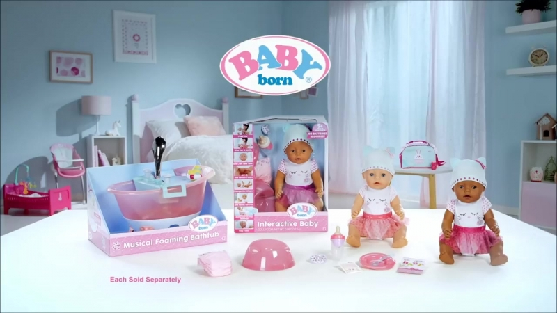 BABY born _ Interactive Baby Doll _ _30 Commercial