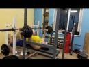 Жим с груди в силовой раме 67 5 кг