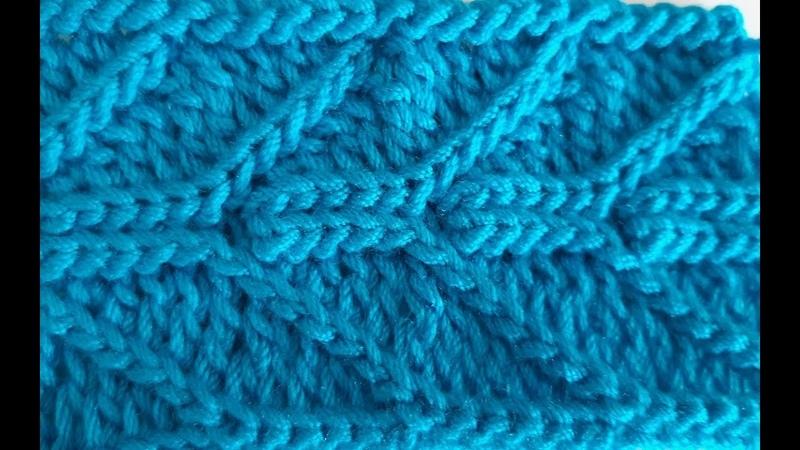 Punto a crochet paso a paso facil para bufandas, mantas, tapetes, sueters, chalecos, gorros