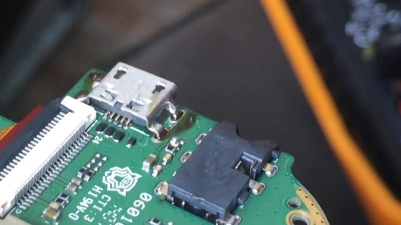 Замена разъема micro-USB(mini-USB) _ Перепайка разъема micro-USB (mini-USB) _ Replace Micro Usb