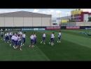 Тренировка победителей. Россия начинает готовиться к Уругваю