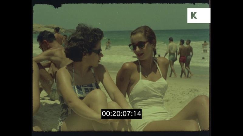 Rio de Janeiro Beaches, Copacabana, Ipanema, 60s Brazil, HD