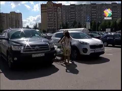 Сотрудники ГИБДД проверили парковки для инвалидов в Подольске 16 августа 2017