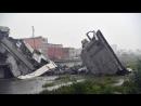 Обрушение моста в Генуе погибли десятки человек