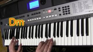 Инструментал-1 on Yamaha PSR E443 Аккорды
