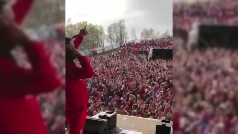 French Montana Sends Crowd Into Frenzy with Avicii Tribute in Norway