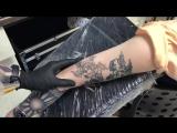 Лазерное удаление татуировки в студии «Забитые»