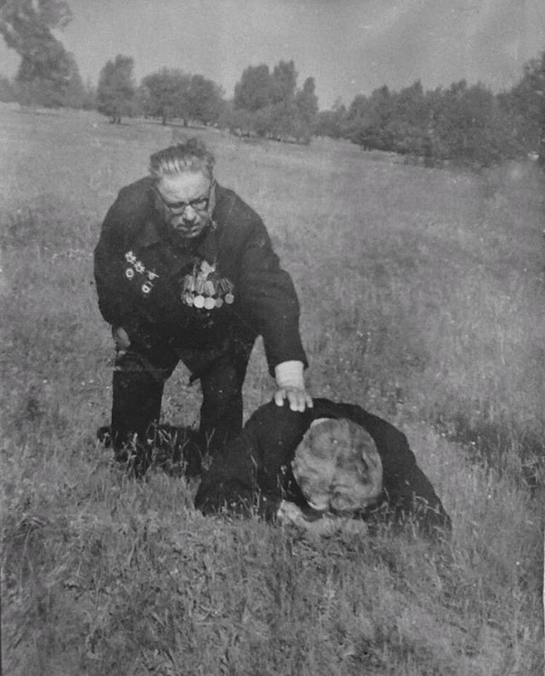 Ветераны. Саур-Могила, Донецкая область УССР, 1973.