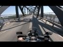 Single moto trip - 2018 ✅ Мост через Дунай - заезд на Болгарию
