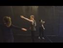 Танец актерское мастерство Анны Климаковой и Елены Русиной